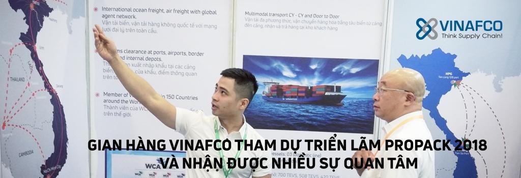 VINAFCO THAM DỰ TRIỂN LÃM PROPACK VIET NAM 2018
